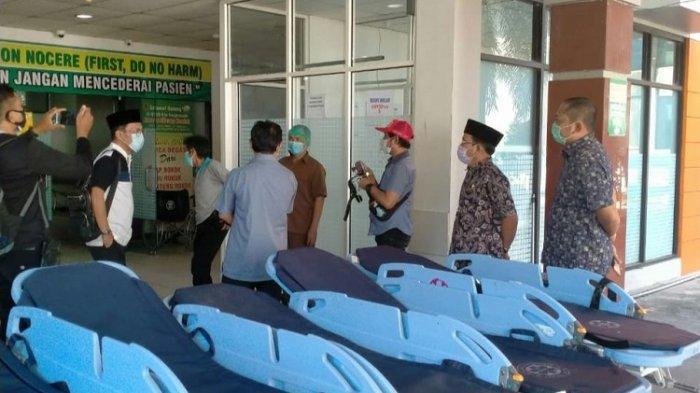 Penumpukan Pasien PDP di IGD, Komisi IV DPRD Kalsel Sidak ke RSUD Ulin Banjarmasin, Temukan Hal Ini