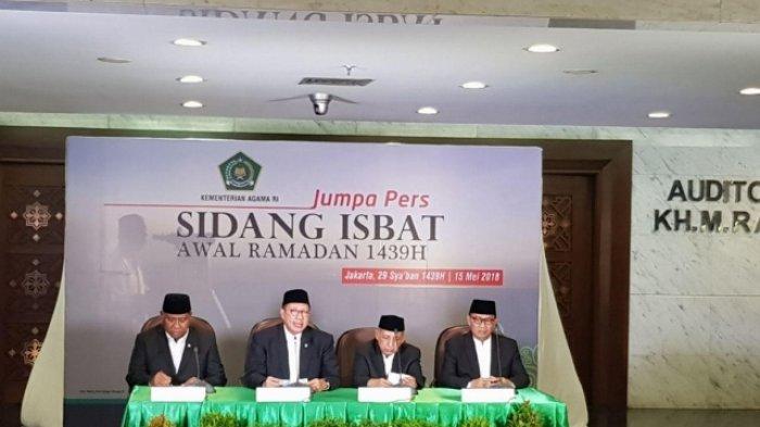 Jadwal & Live Streaming Sidang Isbat Idul Fitri 1 Syawal 1440 H/2019 M di TVOne Kompas TV & Inews TV