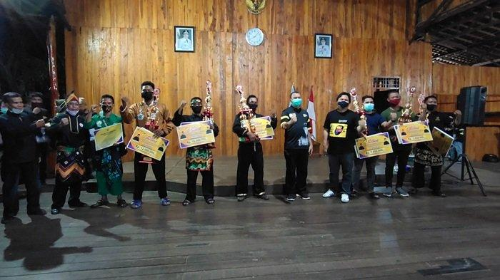 Festival Pencak Silat Budaya Kalsel, PPS Harimau Tanahlaut Raih Penampilan Terbaik Peringkat Pertama