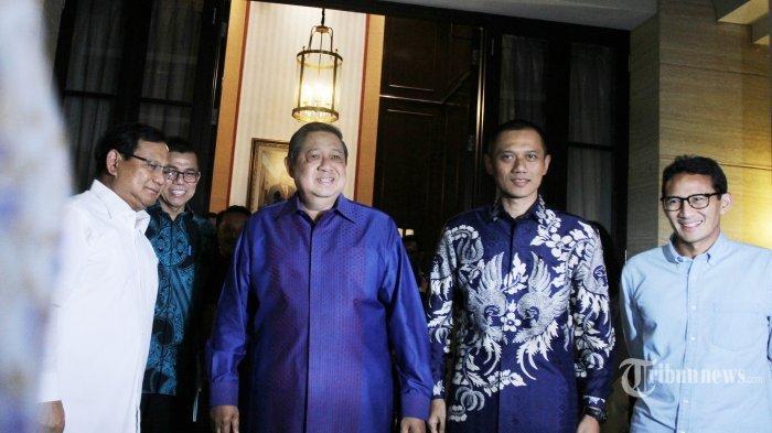 Ini Alasan Putra SBY, AHY & Ibas Belum Kunjungi Prabowo, Sudah Temui Jokowi, Gus Dur & Megawati