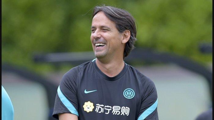Pelatih Inter Milan di Liga Italia Serie A 2021/2022, Simone Inzaghi