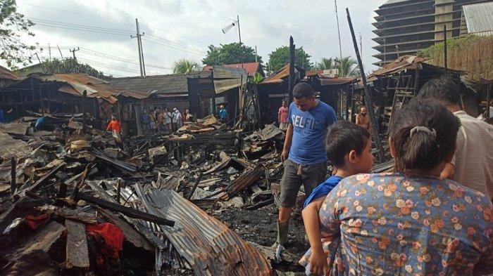 Jadi Korban Kebakaran Pelambuan Banjarmasin, Pak RT Ini Pun Syok hingga Pingsan