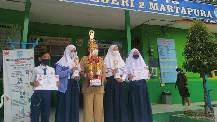 Atlet FPTI Kabupaten Banjar Ini Kembali Harumkan Nama SMPN 2 Martapura