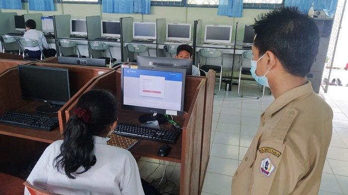 ANBK SMP Sederajat di Batola, Kepala SMPN 3 Batola Sebut Siswanya Kesulitan Kerjakan Soal