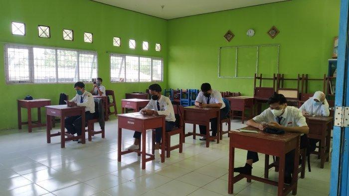 SMP di Batola Gelar Ujian Sekolah Secara Luring, Maksimal 10 Siswa Per Kelas