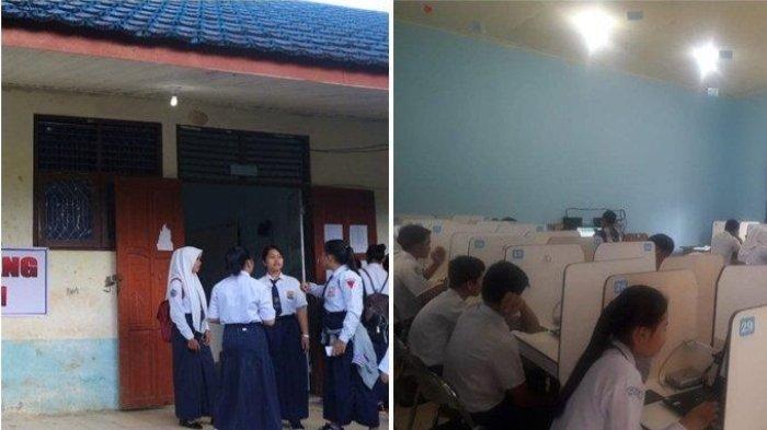 Sekolah Direhab, SMPN 1 Loksado Lakukan Belajar Tatap Muka Bergiliran