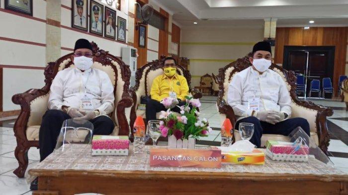SJA-Arul Dilantik sebagai Bupati dan Wabup Kotabaru pada 26 April 2021 di Banjarmasin