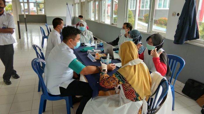 Wabah Corona Kalsel, Puluhan Petugas Lapas Tanjung Kembali Jalani Vaksinasi Covid-19