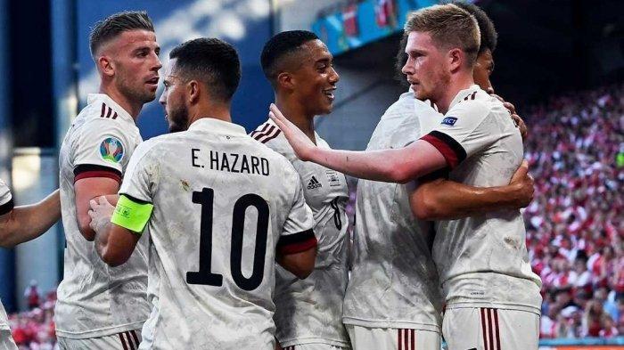 Hasil Belgia vs Finlandia di Grup B Euro 2021 Skor Kacamata di Babak Pertama, Rusia vs Denmark 0-1