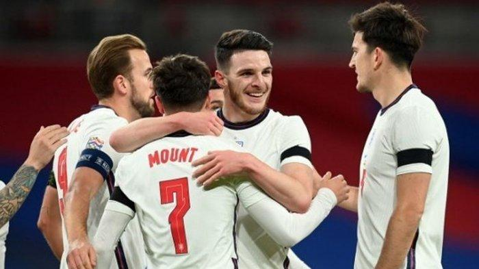 HASIL Inggris Vs Islandia UEFA Nations League, The Three Lions Pesta Gol di Stadion Wembley