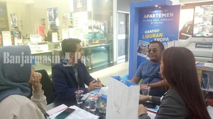 Beli Apartemen Selama Expo di Duta Mall, Sky Pavilion Beri Hadiah Lagsung Gratis Liburan ke Eropa