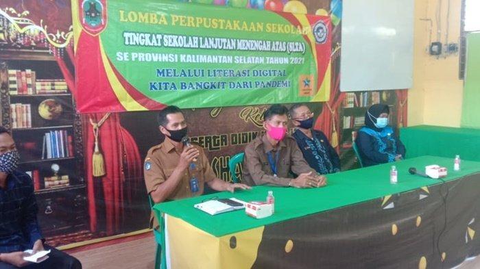 SMK Shalatiyah Kabupaten HSU Ikuti Lomba Perpustakaan Tingkat Provinsi Kalsel