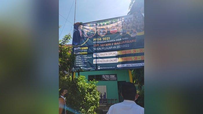 PPDB Online 2021 Kalsel SMK SMA Digelar Bersama, Ketua PPDB SMKN 2 Banjarbaru Beri Peringatan