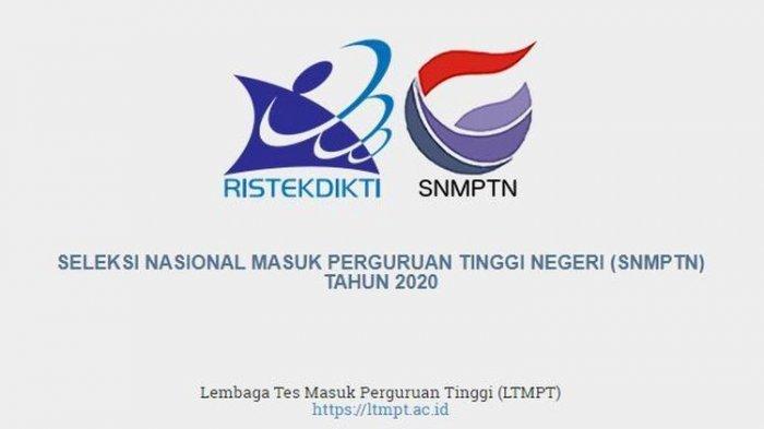 Pendaftaran SNMPTN 2020 Melalui LTMPT Dimulai 14 hingga 27 Fabruari 2020, Perhatikan 9 Tahapannya
