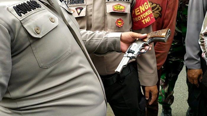 Giat Tegakkan Perwali Banjarmasin, Petugas Temukan Warga Bawa Soft Gun