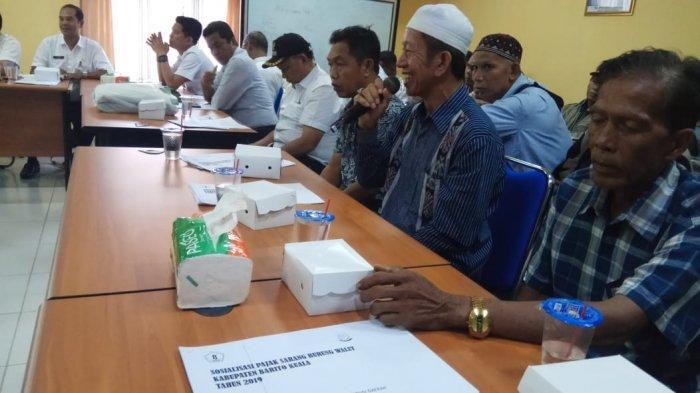 Diberikan Sosialiasi Pajak Panen, Petani Sarang Walet Kabupaten Batola Kaget Bangunan Mau Digembok