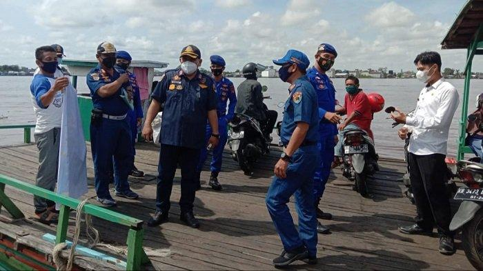 Jelang Lebaran 2021, Dishub Kapuas Cek Kapal Feri Penyeberangan di wilayah Selat