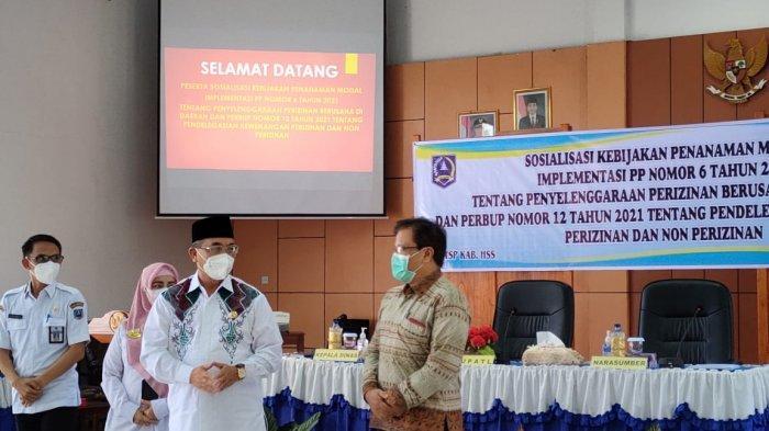 Dorong Investasi, Pemkab HSS Sosialisasikan Kebijakan Penanaman Modal