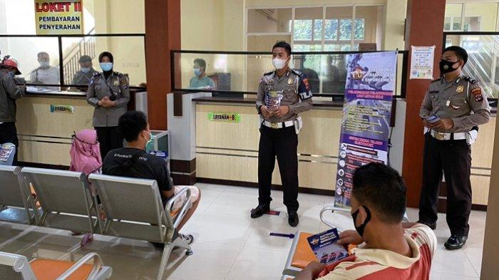 Satlantas Polres Tabalong Sosialisasikan Mekanisme Tilang Elektronik