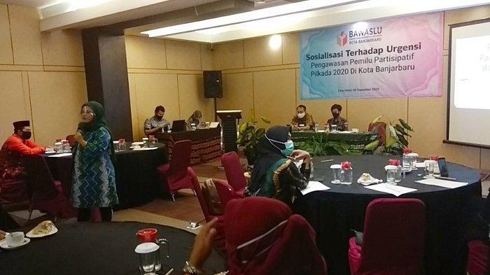 Masa Tenang Pilkada 2020 Rawan Pelanggaran, Bawaslu Banjarbaru Lakukan Ini