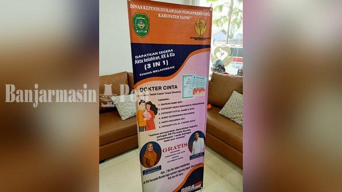 Dinas Kependudukan Kabupaten Tapin Terbitkan Dokter Cinta untuk Ibu yang Baru Melahirkan