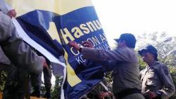 11 Titik Jalan di Banjarmasin Dilarang Dipasangi Atribut Politik