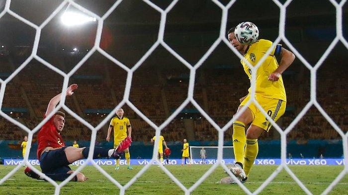 Klasemen Grup E EURO 2021 Jelang Spanyol vs Polandia, Hasil Akhir Swedia vs Slovakia 1-0
