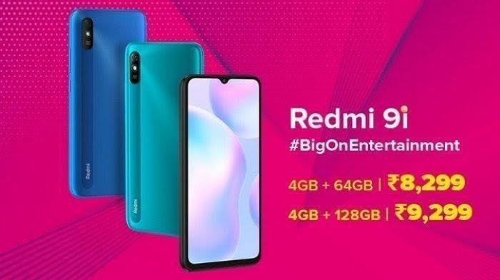Harga HP Xiaomi September 2020, Redmi 9i 4 GB & 64 GB Rp 1,6 Jutaan, Ada Diskon Ratusan Ribu