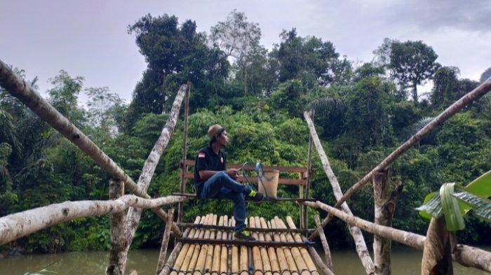 Spot berfoto di Wisata Sungai Batu Balah