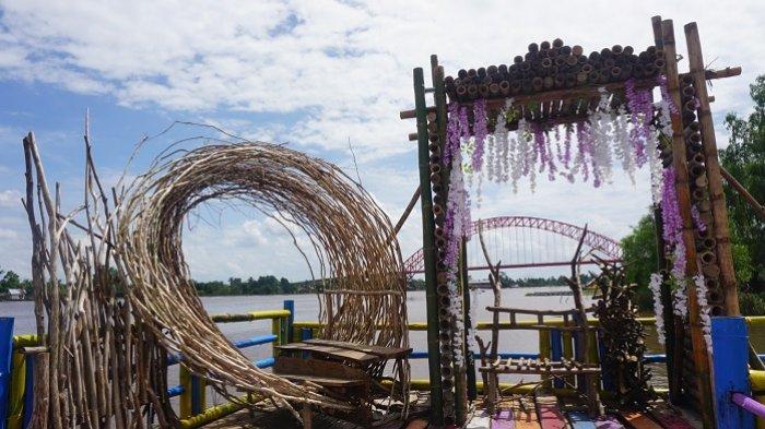 Spot foto di lokasi Wisata Lampau Rumpiang, Batola.