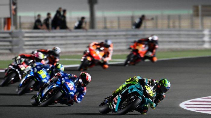 Alasan Klasik Valentino Rossi Gagal Pertahankan 4 Besar MotoGP Qatar 2021, Lagi-lagi Soal Ban