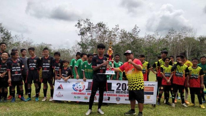SSB Sanggam FC Balangan Menjuarai Junior Banua League U15, Raih Poin Tertinggi di Babak Final 4