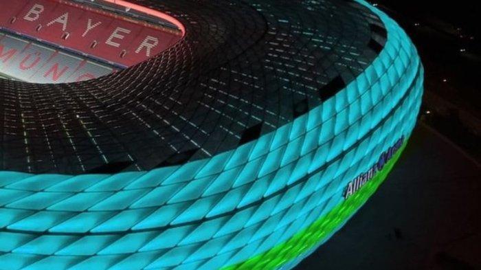 Drama Jerman vs Hungaria di Euro 2021 Sudah Dimulai, UEFA Larang Lampu Pelangi Dinyalakan di Stadion