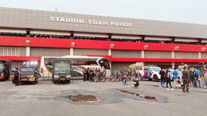 Stadion Tuah Pahoe Kembali Dipakai Kalteng Putra FC Latihan Jelang Laga Liga 2 Indonesia