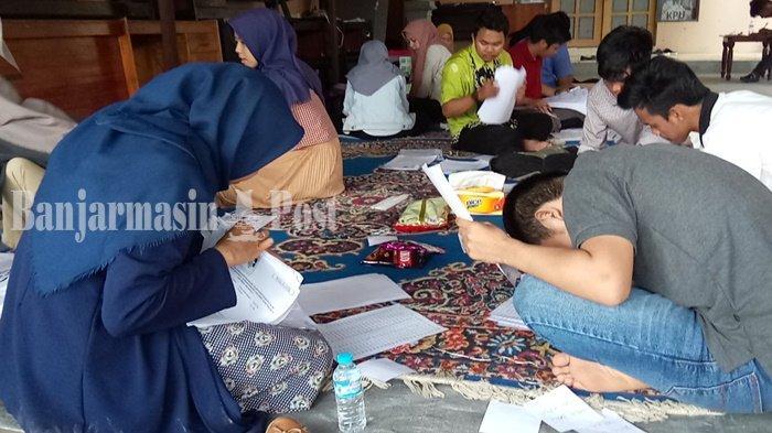 Pilkada Kalsel 2020, Verifikasi Ganda Berlangsung, Ketua KPUD Banjar Muhaimin Ungkap Hal Ini
