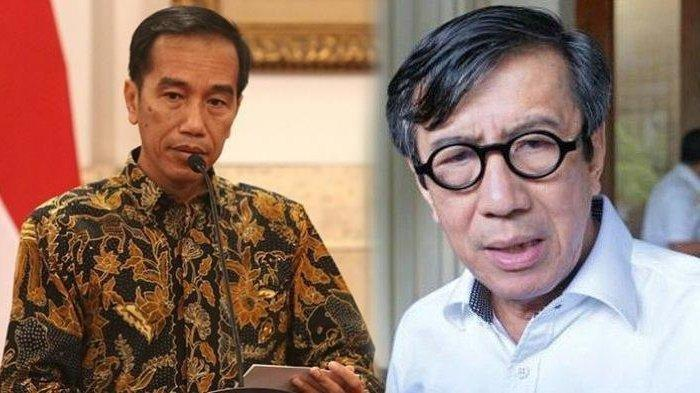 Warning Presiden Jokowi untuk Yasonna Laoly, 'Hati-hati Membuat Statement, Apalagi Terkait Ini'