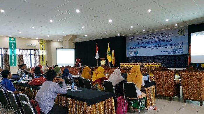 Jamin Mutu Internal, Perguruan Tinggi di Kalimantan Ikuti Bimtek Penjamin Internal