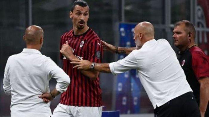 Peringatan Pioli Bagi Skuat AC Milan saat Kontra Benevento, Ibrahimovic dkk Wajib ke Jalur UCL