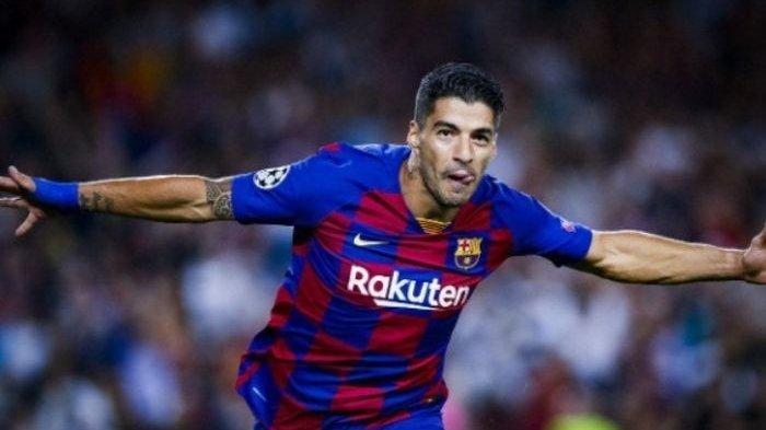 WOW! Luis Suarez Cetak Gol Salto saat Barcelona Ungguli Sementara Sevilla 3-0