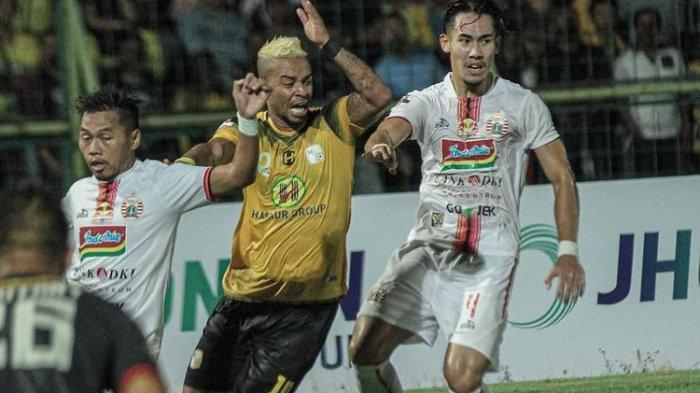 Hasil Madura United vs Barito Putera Liga 1 2019, Skor Babak Pertama 0-1, Gol Torres