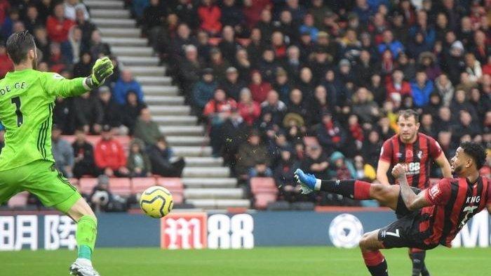 Hasil Liga Inggris Bournemouth vs Man United, Setan Merah Dipermalukan Bournemouth, Skor Akhir 1-0