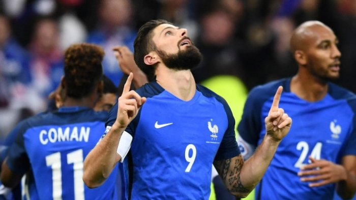 Prancis Menang Dua Gol Tanpa Balas Atas Wales di Laga Persahabatan