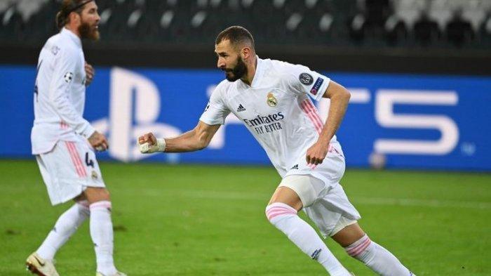 Hasil Liga Spanyol : Real Madrid Susul Atletico dan Tinggalkan Barcelona di Klasemen LaLiga