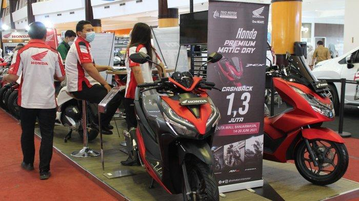 PCX160 dengan Fitur Andalnya Masih Jadi Pimadona Honda Premium Matic Day di Duta Mall Banjarmasin