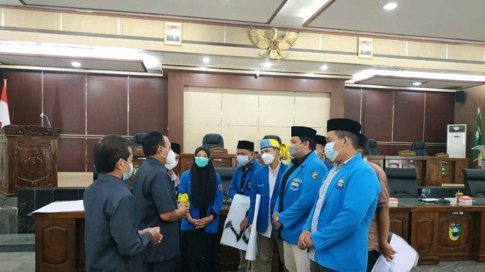 Respons Aspirasi Aktivis PMII, Petinggi Dewan Tala Segera Panggil Satker Terkait