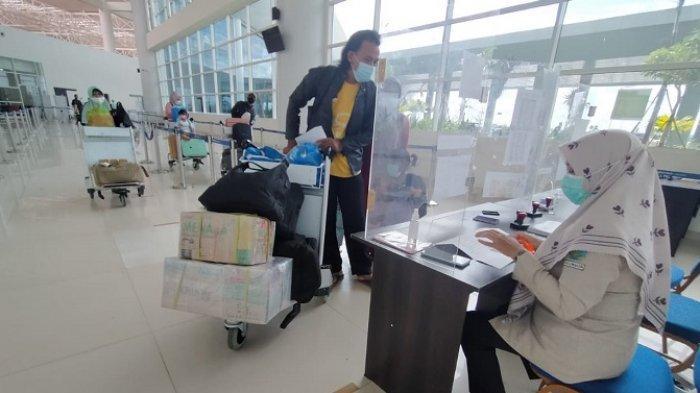 Peniadaan Mudik Berakhir, Penerbangan Bandara Syamsudin Noor Capai 31 flight