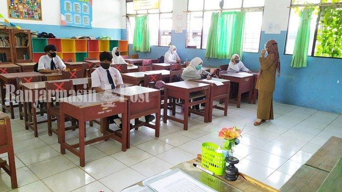 Dinas Pendidikan Kota Banjarmasin Minta 8 SMPN Tunda Pembelajaran Tatap Muka