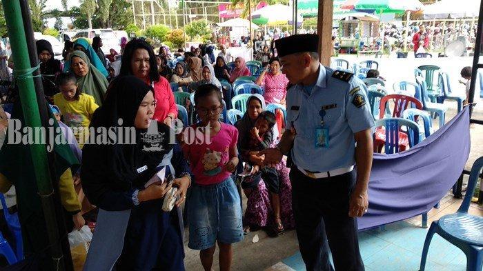 Waktu Besuk Dibuka 2 Hari, Pengunjung Lapas Banjarmasin Mencapai 7.000 Orang