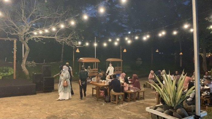 Asyiknya Ramadan di Kampung Senja Amanah Borneo Park, Ada Paket Bermain Wahana dan Buka Puasa