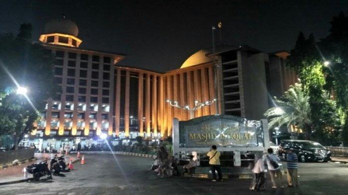 Laksanakan Salat Khusuf, Pihak Keamanan Masjid Istiqlal Bolehkan Jemaah Bermalam